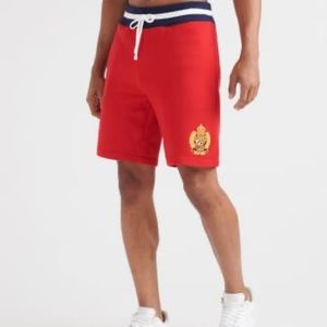 Polo By Ralph Lauren Red Blue White Sweat Shorts